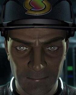 CGI Captain Black