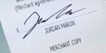 Jordon maron signature