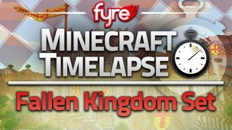 Minecraft Timelapse - Fallen Kingdom Set (Captain Sparklez)