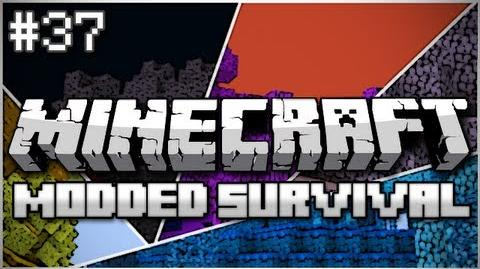 Minecraft Modded Survival Let's Play Ep. 37 - A Big Happy Family