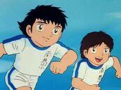 Tsubasa and Misaki - Golden Combi