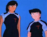 Hyuga and Takeshi (CT)