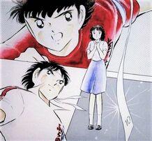 Tsubasa vs Matsuyama and Yoshiko