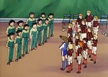 U-14 Japan Jr. vs. All Europe Jr