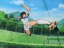 Nitta - Jumping Volley Hayabusa Shoot