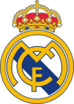 Real Madrid football logo