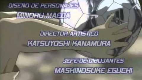 Captain Tsubasa Road to 2002 Opening 1 japonés