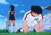 Hyuga vs Tsubasa injured (CT)