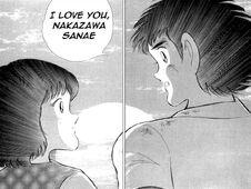 Tsubasa declares to Sanae (JBC)