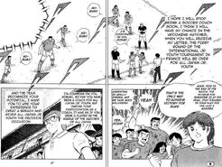 Misugi return - All Japan Jr