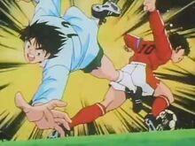 Tsubasa Dribble vs Aoi (CTJ)