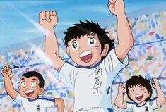 Tsubasa and teammates (Nankatsu school)