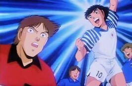 Tsubasa vs Hernandez (Italy Jr)