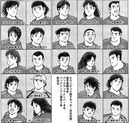 Olympic Japan members
