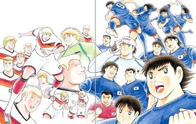 Olympic Japan vs Olympic Germany (Rising Sun)