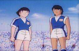 Tsubasa and Kojiro - Japan Jr (1986 Movie 4)