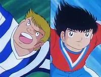 Steve Robson vs Tsubasa (Movie)