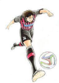 Matsuyama with Consadole Sapporo uniform 2