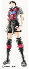 Matsuyama in Consadole Sapporo uniform