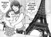 Tsubasa and Misaki reunion