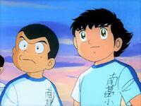 Tsubasa and Ishizaki (Nankatsu school)