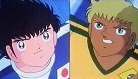 Tsubasa vs Santana (Movie 4)