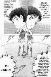 Tsubasa and Misaki vs Brazil Youth
