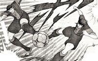 Tsubasa and Rivaul - Super Long Twin Shot