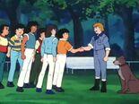 Schneider (1983) shaking hands