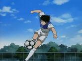 Tsubasa (Drive Shoot) vs Hernandez