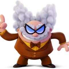 Professor Poopypants as he appears in the Captain Underpants film.
