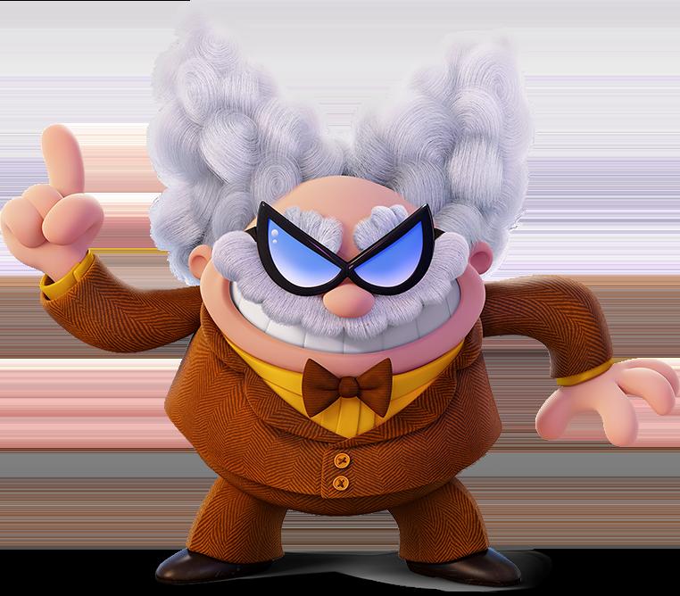 Professor Pee Pee Diarrheastein Poopypants Esq Captain