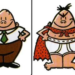 Nice Mr Krupp and Evil Captain Blunderpants