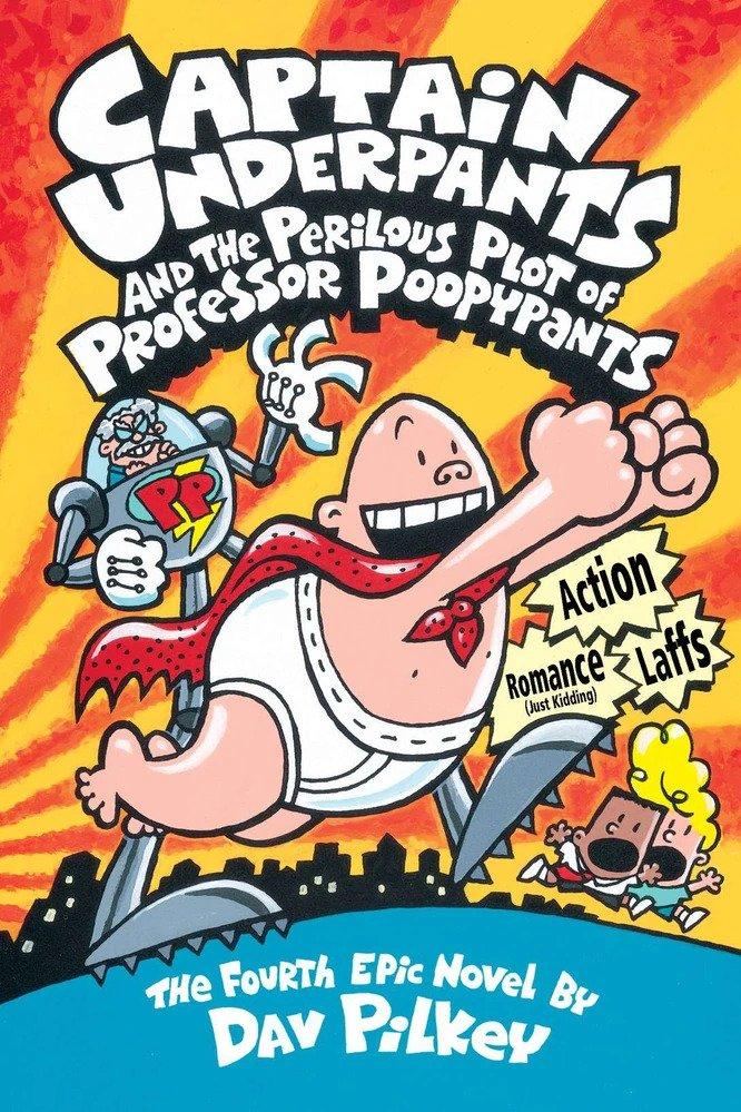 Poopypants Captain Underpants