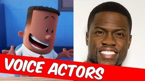Captain Underpants Movie Voice Actors 2017 Captain Underpants Behind The Scenes Cast
