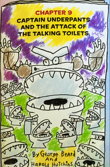 Captain Underpants and the Attack of the Talking Toilets Comic (1)