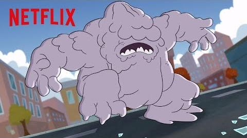 Everything Turns Into Clay! Dreamworks The Epic Tales Of Captain Underpants Netflix