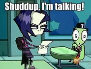 Shuddup, I'm talking