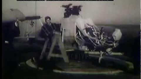 German Helicopter Testing At Sea, 1940s - Film 36306
