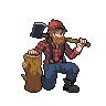 Lumberjack sprite