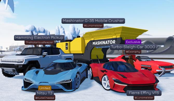 one billion dollar supercar disaster car crushers 2 roblox gaming adventures
