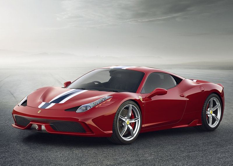 Etonnant Front Angle Ferrari 458 Speciale 2014