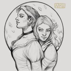 Donatella and Scarlett by Niru