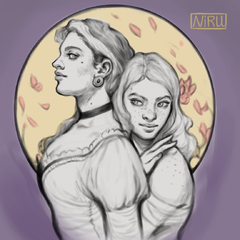 Donatella and Scarlett by Niru (colored version)