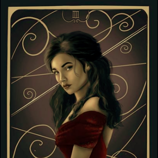 Scarlett by Gina, Dark And Beautiful Art