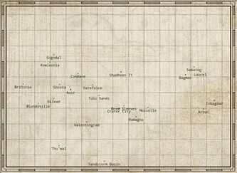 The Federation Map-0