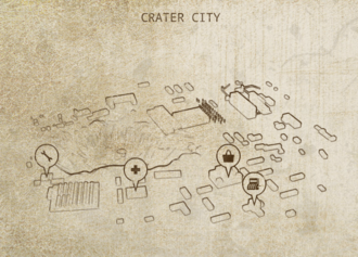 Caravaneer Towns - Crater City