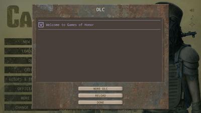 DLC Menu