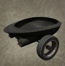 Fiberglass Cart