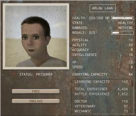 Caravaneer Recruiting - Prisoner